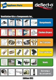 Ventilation Kits & Components for ... - WA Appliance Parts