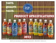 CC UPC Deck Item 2014.xlsx - C&C Beverages, Inc