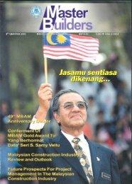 MB&%G°'d Aflå..nçl..Tog-i` - Master Builders Association Malaysia