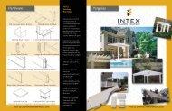 download the Pergola Brochure - Intex Millwork Solutions