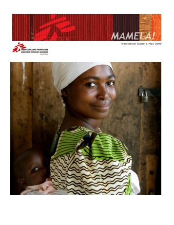 Newsletter Issue 5|May 2009 - MSF