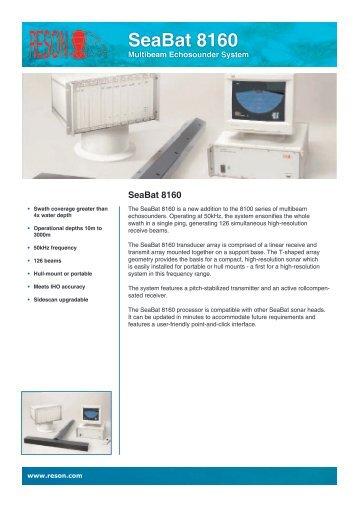 SeaBat 8160