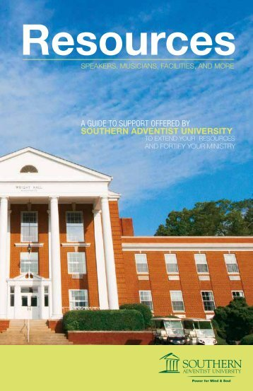 southern_adventist_university_resource_guide - Southern Adventist ...