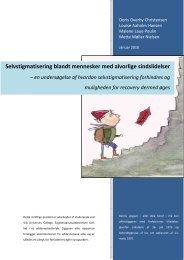 [pdf] Selvstigmatisering blandt mennesker med alvorlige sindslidelser