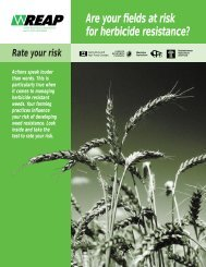 Are your fields at risk for herbicide resistance?