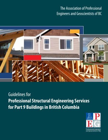 Guidelines for Professional Structural Engineering Services for Part ...
