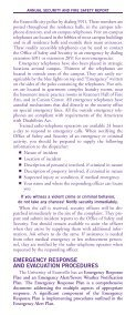 Security Brochure - University of Evansville - Page 4