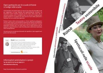 programma - Ufficio Scolastico di Milano