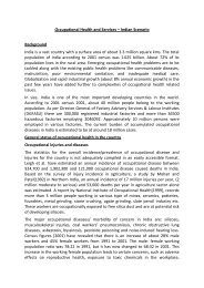 Occupational status report - India.pdf - Asia Monitor Resource Center