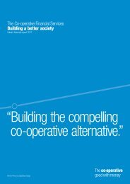 Interim Results 2011 (PDF - 0.7MB) - The Co-operative Banking Group
