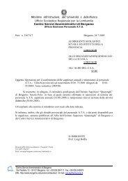 Elenchi provinciali ad esaurimento - Centro servizi amministrativi di ...