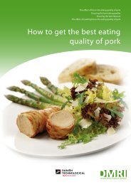 How to get the best eating quality of pork - The Meat Cutter's Club