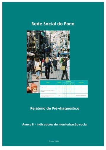 Indicadores de monitorização social - Câmara Municipal do Porto