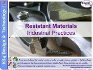 Industrial Practices - Kingsdown School