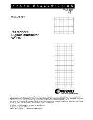 digitale multimeter VC 120 - Produktinfo.conrad.com