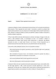 Deliberazione n° 4/21 del 10 Febbraio 2005 - ABC - Sardegna