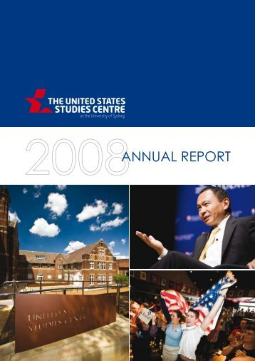 Annual Report 2008 - United States Studies Centre