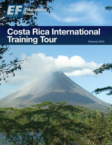Costa Rica International Training Tour - EF Educational Tours