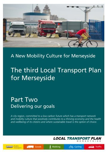 Goal Two - the TravelWise Merseyside website