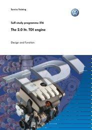 SSP 316 - The 2.0 ltr. TDI engine - Volkspage