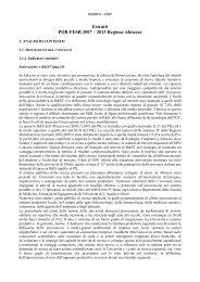 R&ST, Innovazione e competitività - ISSiRFA - Cnr