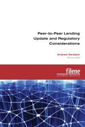 Peer-to-Peer Lending Update and Regulatory Considerations