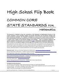 High School Flip Book - katm.org