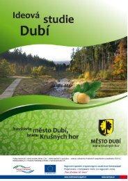 Dubí Ideová studie 2012 - Město Dubí