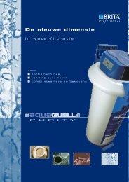 BR 01 Brita Professional De nieuwe dimensie in waterfiltratie - Bouter