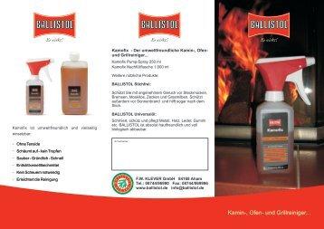Kamin-, Ofen- und Grillreiniger... - Wagner Sicherheitstechnik GmbH
