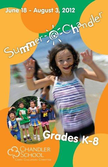 Grades K-8 - The Chandler School