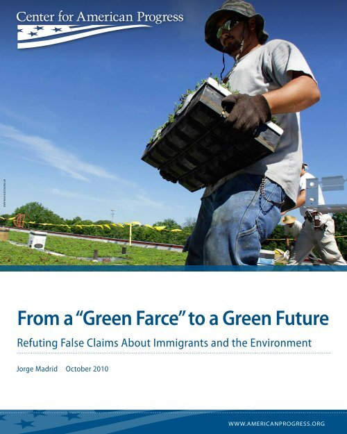 "From a ""Green Farce"" to a Green Future - The Outdoor Foundation"