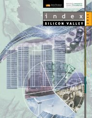 2011 Index of Silicon Valley - Silicon Valley Community Foundation