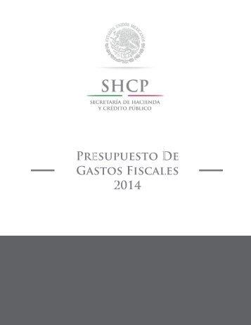 Presupuesto de Gastos Fiscales 2014