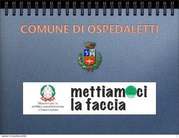 COMUNE DI OSPEDALETTI