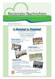 Donnerstag   11. August 2011   Nr. 32 - WAK-Marina-Niestetal.de
