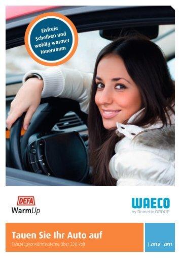 Tauen Sie Ihr Auto auf - Waeco.com