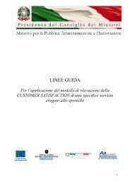 LINEE GUIDA - Pubblica Amministrazione di Qualità