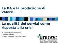 Elena Gamberini - Pubblica Amministrazione di Qualità