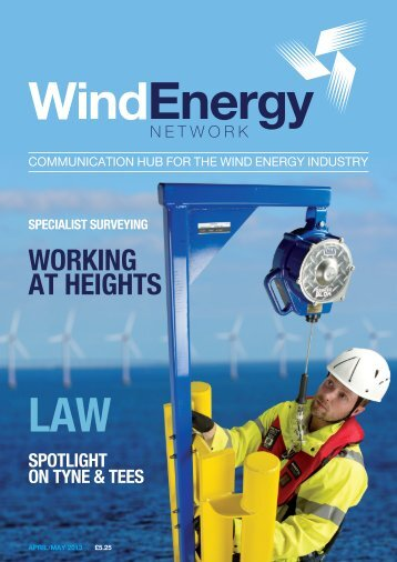 WORKING AT HEIGHTS - Wind Energy Network