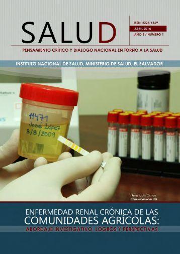 Revista Salud. Enfermedad Renal Crnica de las Comunidades Agrcolas