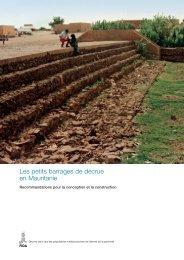 Les petits barrages de décrue en Mauritanie - IFAD