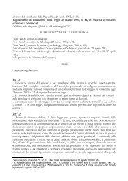 Decreto del presidente della Repubblica 28 aprile 1993, n. 132 ...