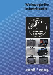 Werkzeugkoffer Industriekoffer - Wachter Lagertechnik