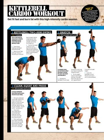 Kettlebell cardio workout - Men's Fitness Magazine