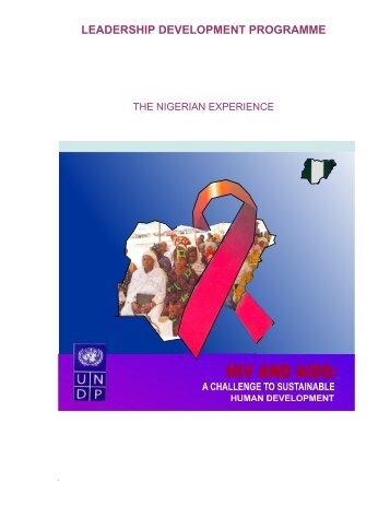 THE UNDP LEADERSHIP DEVELOPMENT ... - UNDP Nigeria