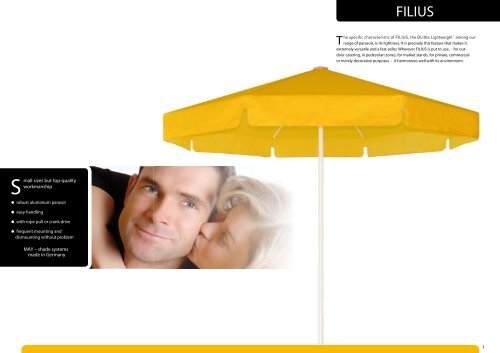 Filius Brochure, Colors & Specs (PDF) - May Collection ...