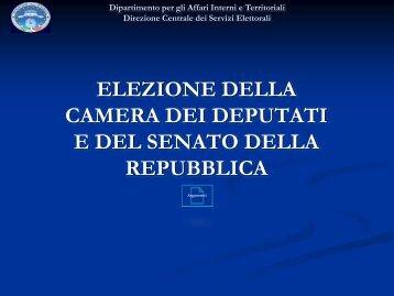 elezione della camera dei deputati - PO-Net Rete Civica di Prato