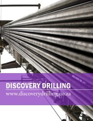 DISCOVERY DRILLING - The International Resource Journal