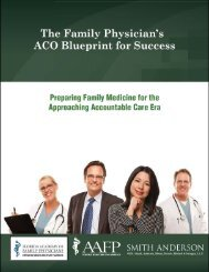 FL Blue Print Guide 2011 - Florida Academy of Family Physicians